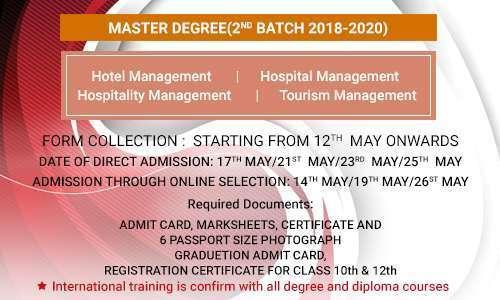 hospitality management in kolkata